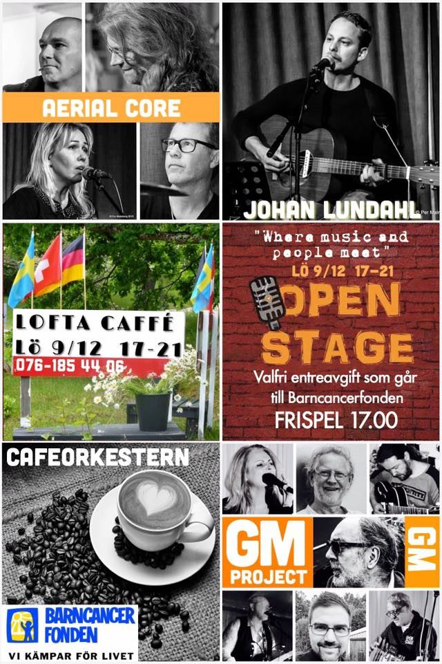 Open Stage på Lofta Caffè