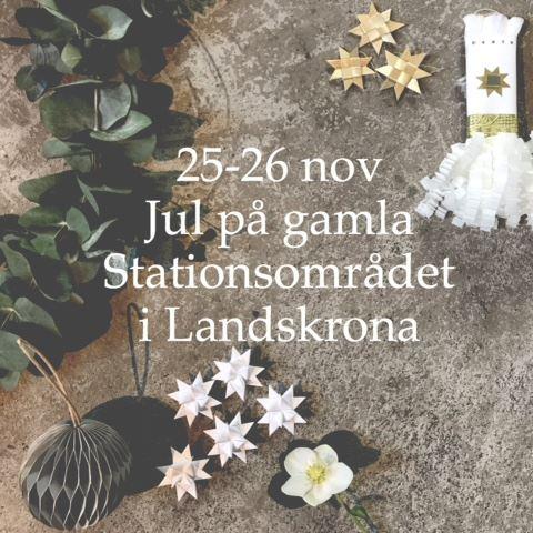 Jul på gamla Stationsområdet