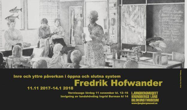 Utställning Fredrik Hofwander