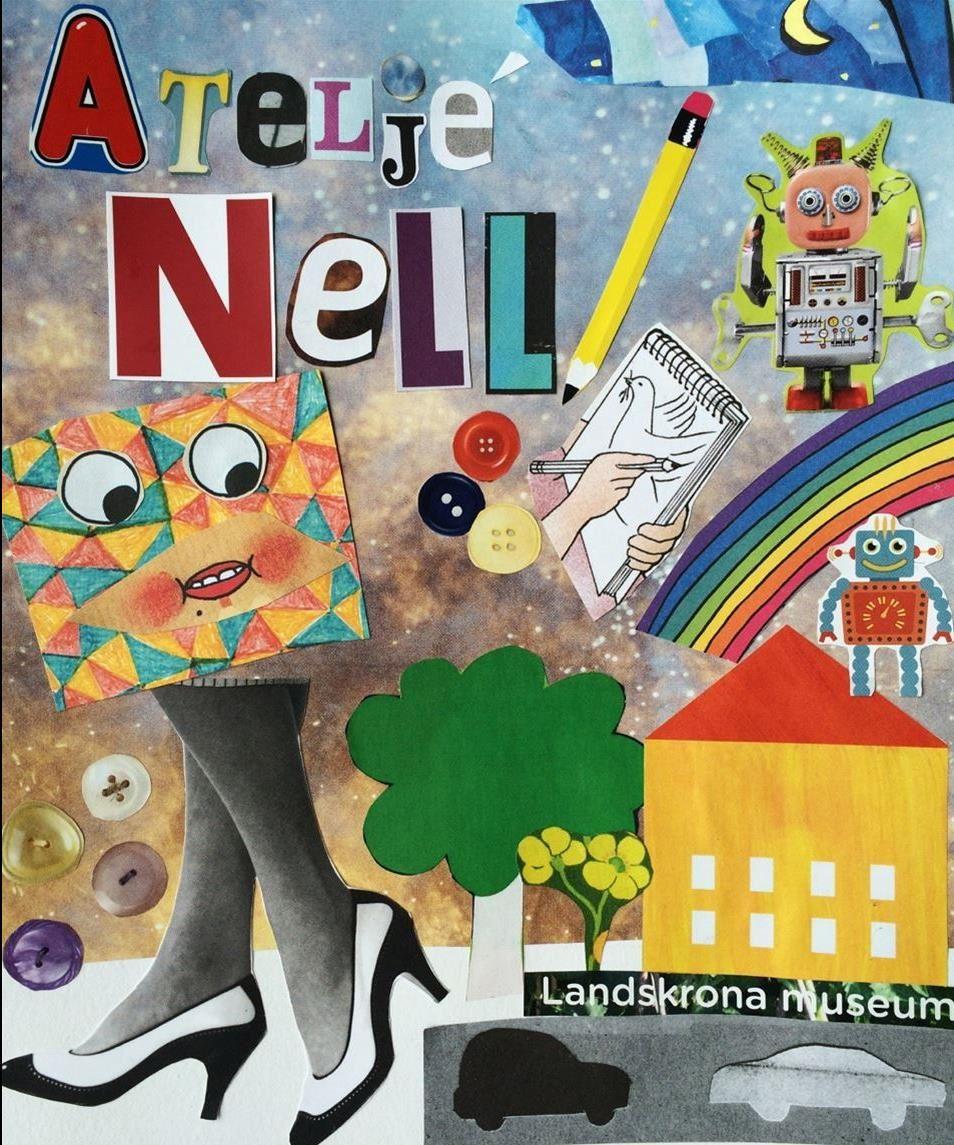 Skapa på egen hand i Ateljé Nell