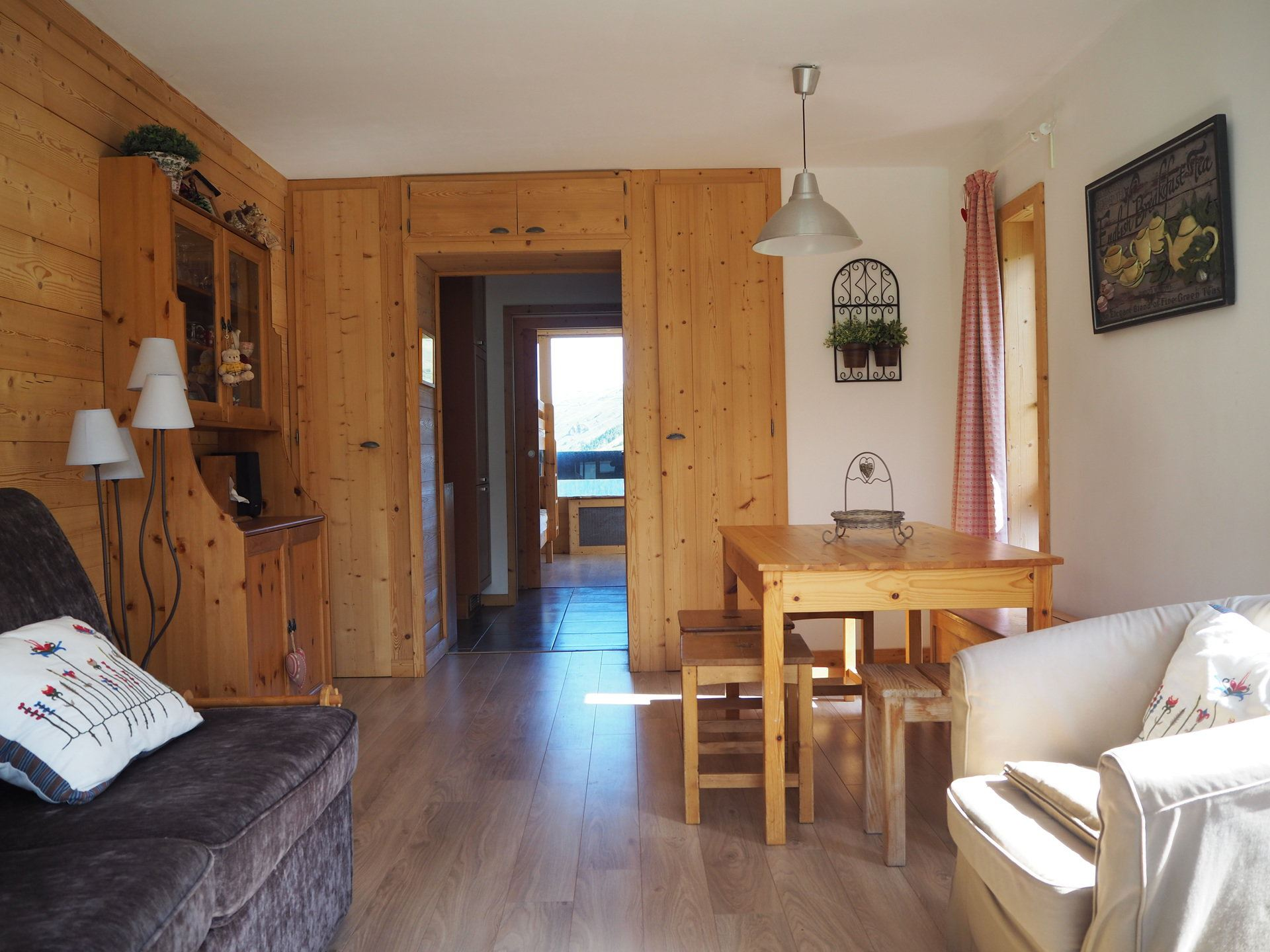3 Rooms 8 Pers ski-in ski-out / Dorons 1005