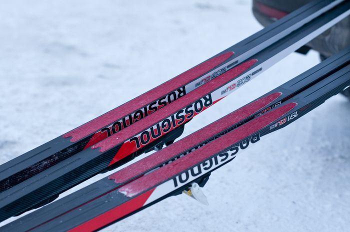 Skin-skidor utrustning Vuxen