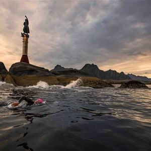 © Photo: Kai-Otto Melau, Lofoten Triathlon // The Arctic Triple