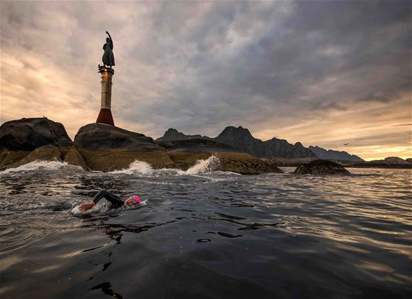 © Photo: Kai-Otto Melau, Lofoten Triathlon // The Arctic Triple