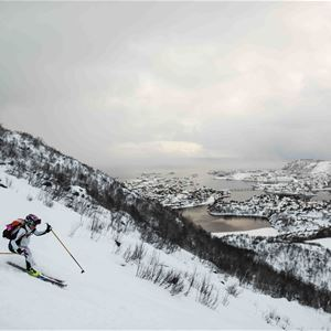 © Photo: Alexis Berg, Lofoten Skimo // The Arctic Triple