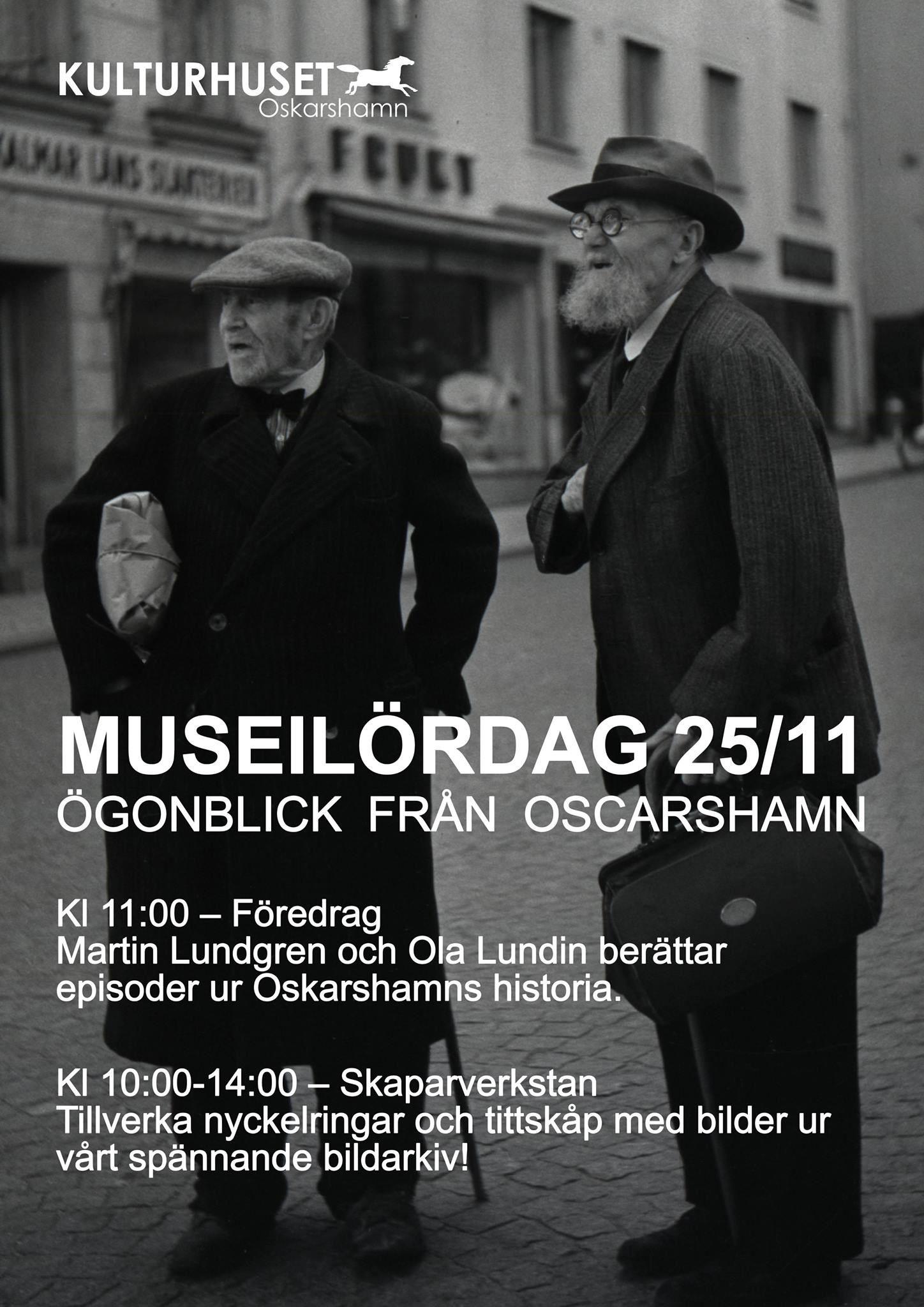 Museilördag, ögonblick från Oskarshamn