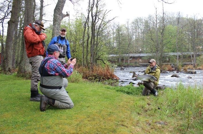 Fly fishing course for two handed rod, 2 nights