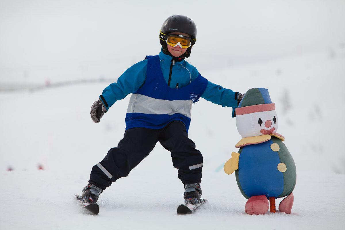 Nybörjare Alpin Barn (-6 år)