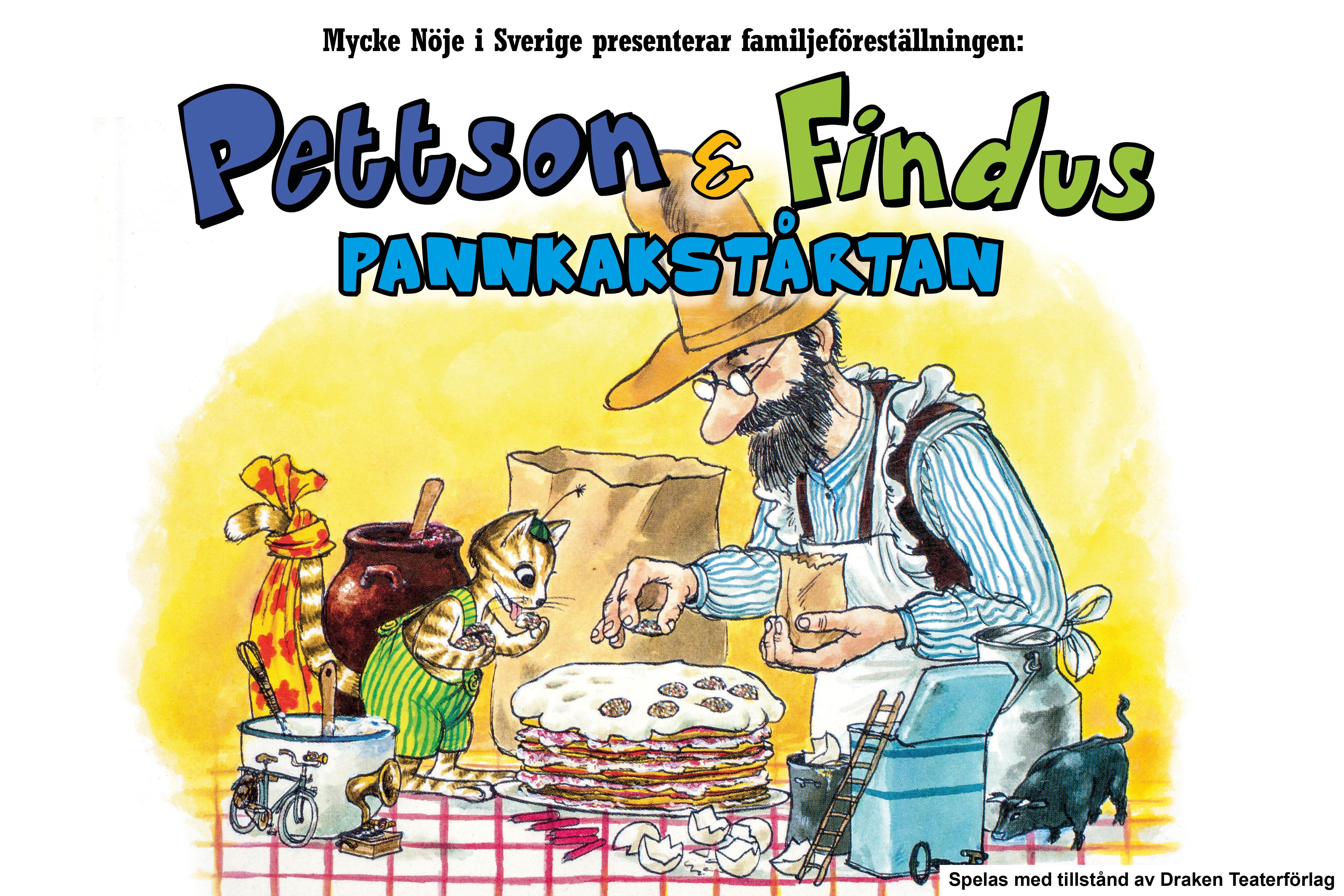 © Mycke Nöje i Sverige AB, Barnteater:Pannkakstårtan
