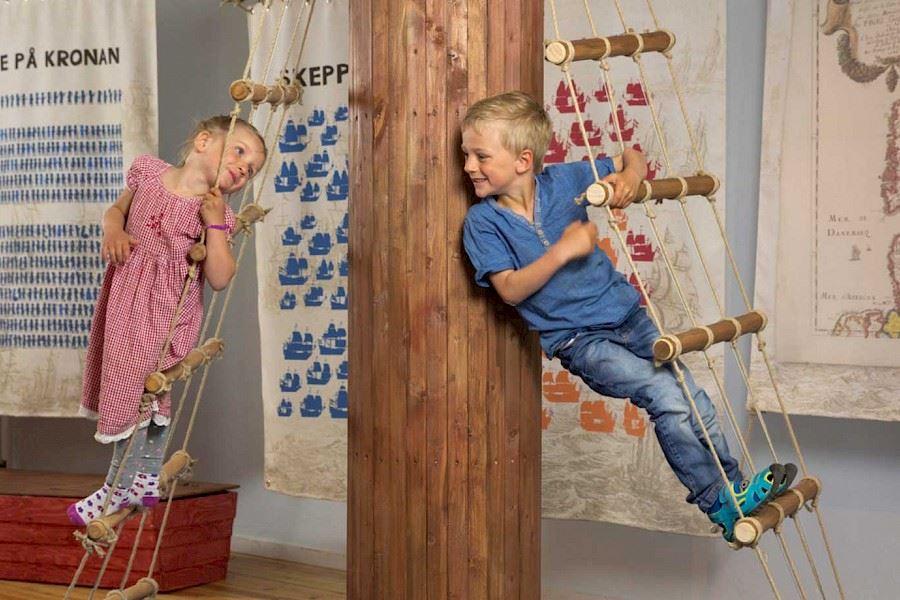 Barnens Superkronan - lekutställning på Kalmar läns museum