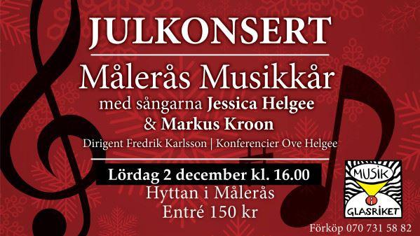 Musik i Glasriket - Julkonsert