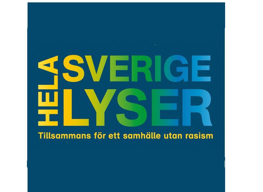 Hela Sverige lyser - Tillsammans för ett samhälle utan rasism