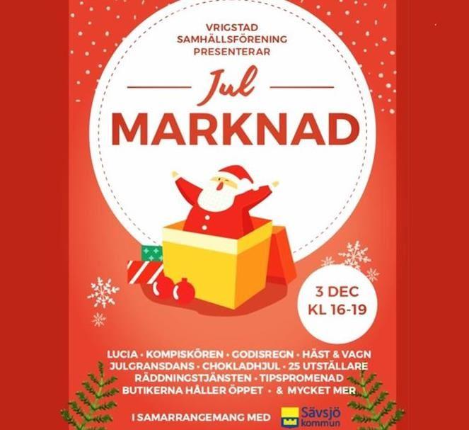 Julmarknad i Vrigstad