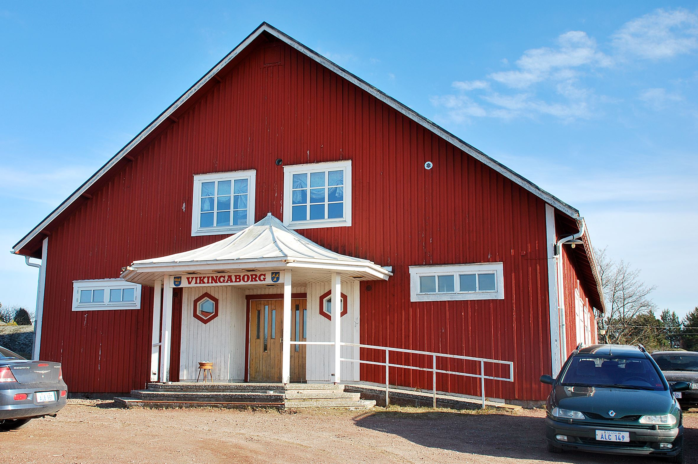 Christmas party in Vikingaborg, Föglö