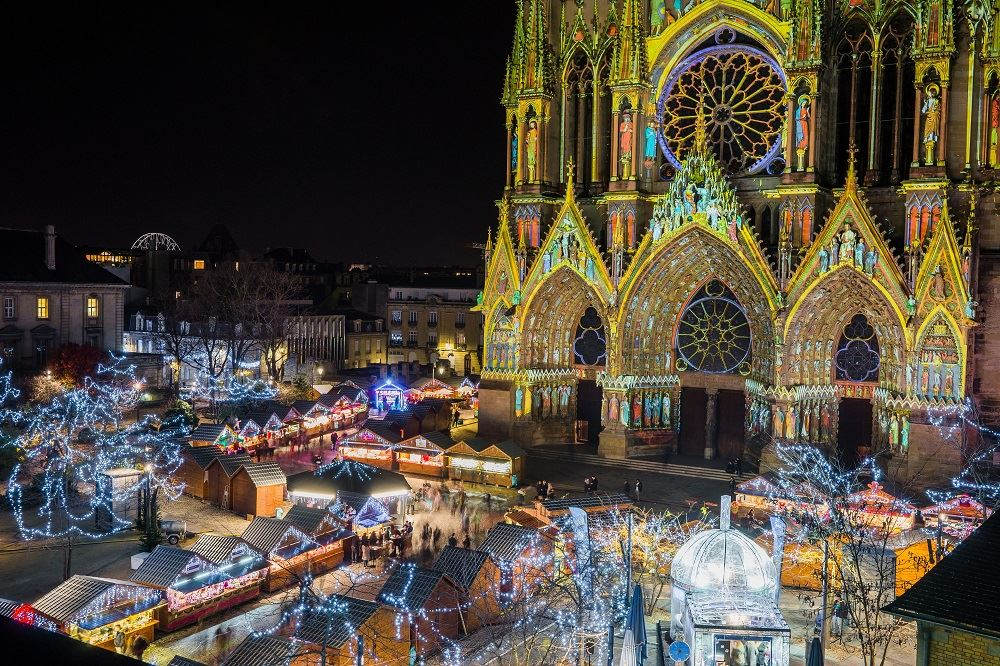 Christmas time in Reims