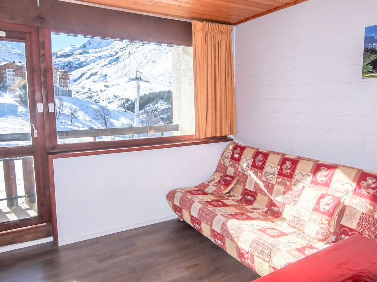 4 Pers Studio + Cabin ski-in ski-out / ASTERS B4 1215