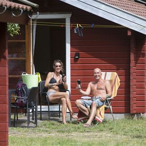 Nordskoven Strand Camping Hütten