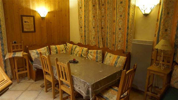 3 rooms+corner mountain 8 people ski-in ski-out/ LE BELVEDERE GROUND FLOOR (mountain of charm)