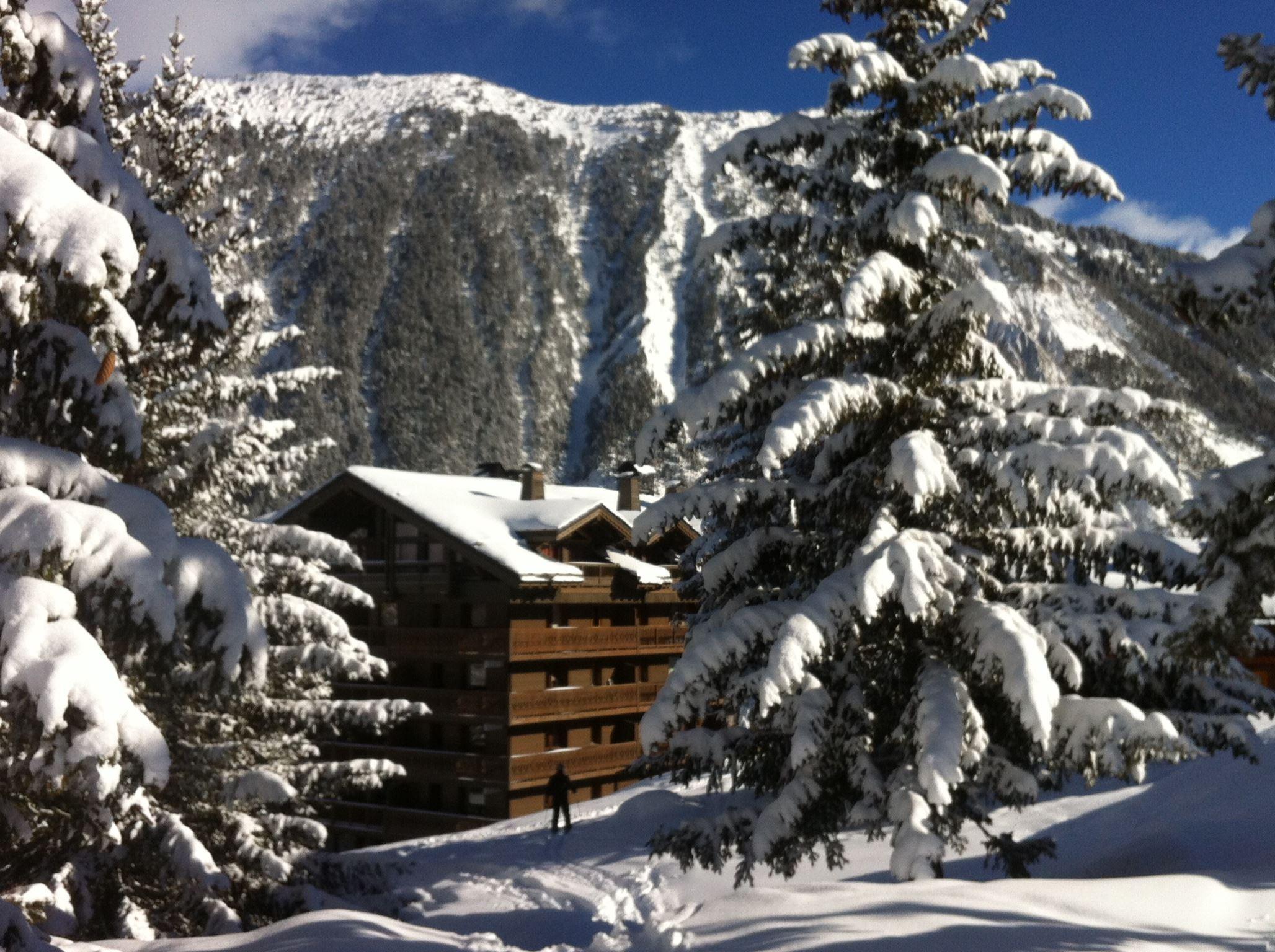 3 pièces+coin montagne 8 personnes skis aux pieds / LE BELVEDERE REZ DE JARDIN (montagne de charme)
