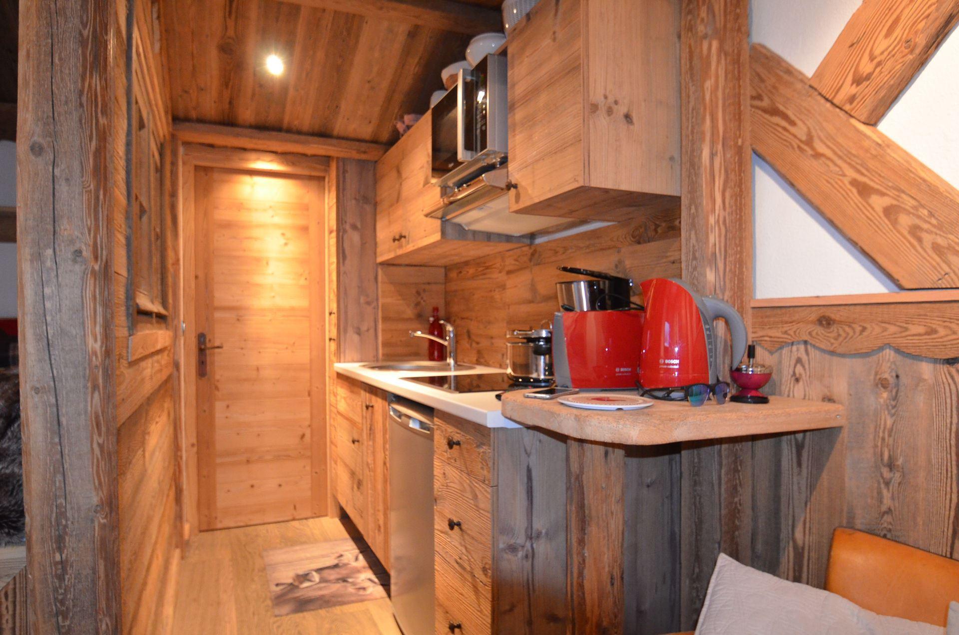 3 Pers studio ski-in ski-out / NECOU 717