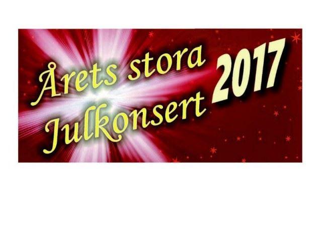 Årets stora julkonsert 2017