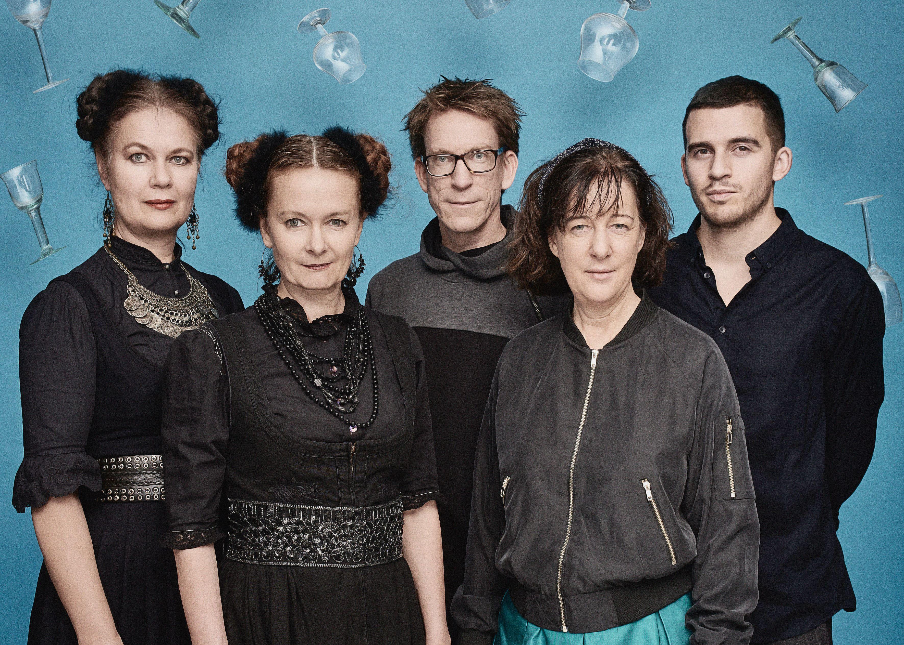 Miki Anagrius, Jazz på Vetlanda museum - Viva Black med Heidi & Gretli