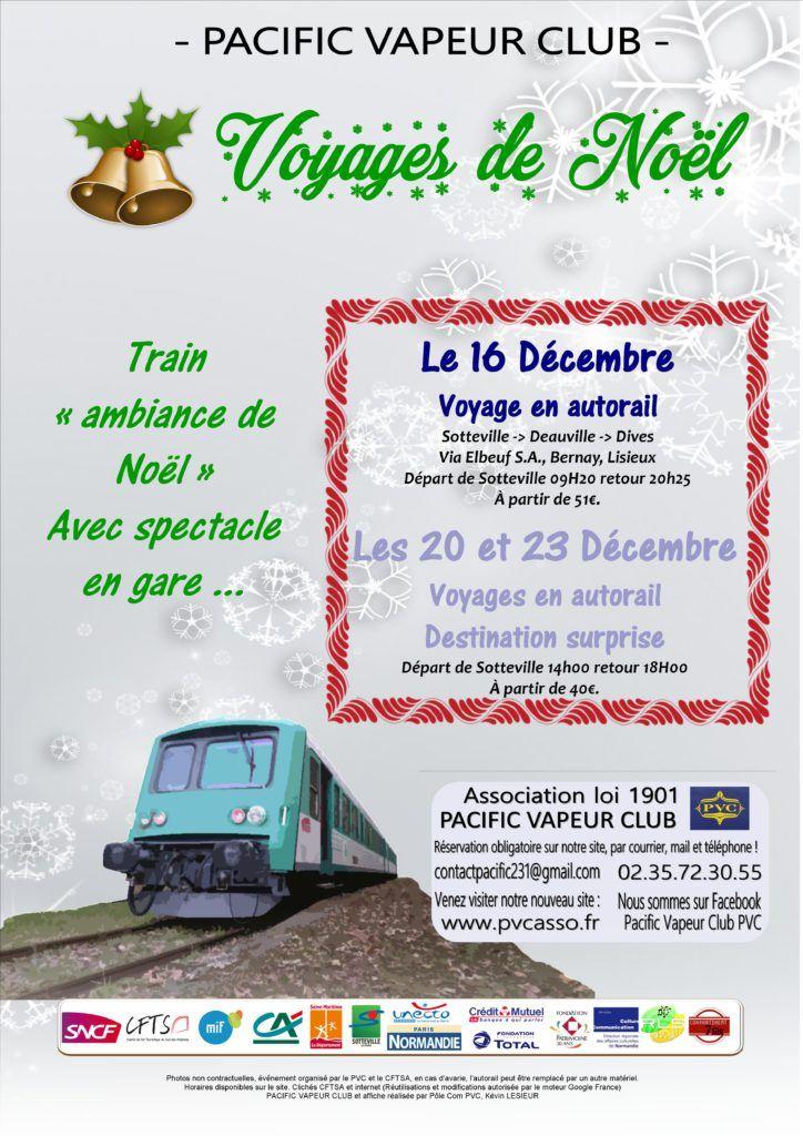 Les trains de Noël ! Destination surprise !