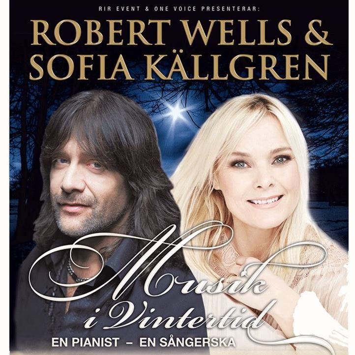 Musik i vintertid med Robert Wells & Sofia Källgren