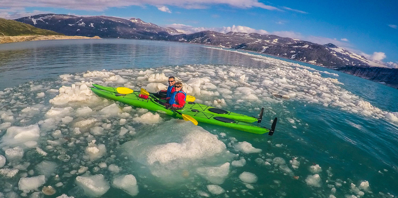 """""""Kayak trip in the Arctic"""""""