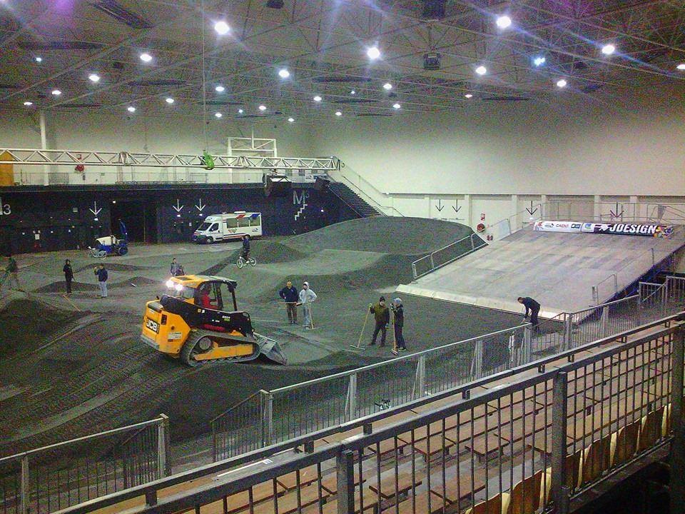 Open Pro Indoor BMX