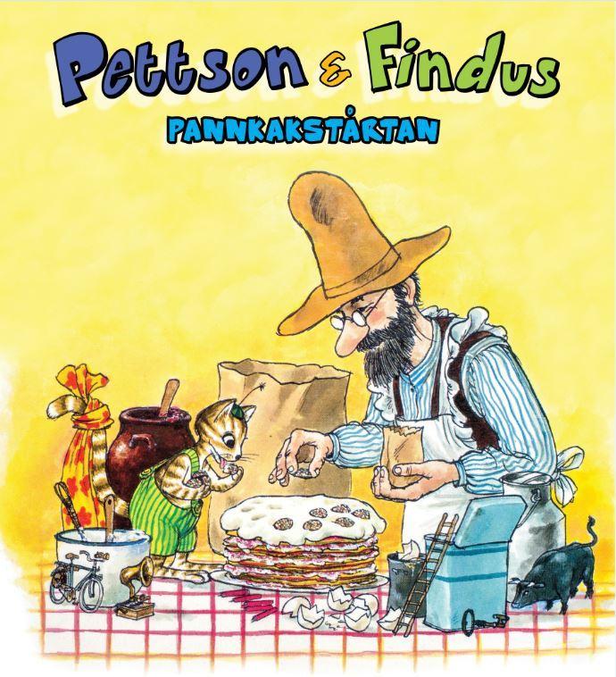 """Pettson&Findus""""PANNKAKSTÅRTAN"""""""