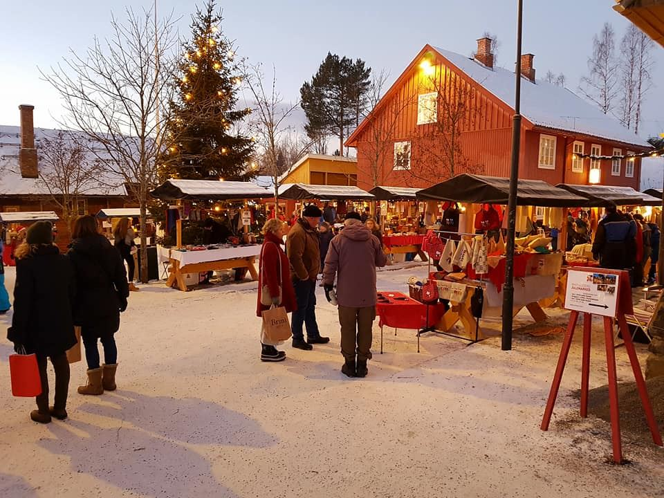 Julemarked på Maihaugen i Lillehammer