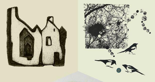 Östersunds kollektiva Grafikverkstad - konstutställning Ahlbergshallen