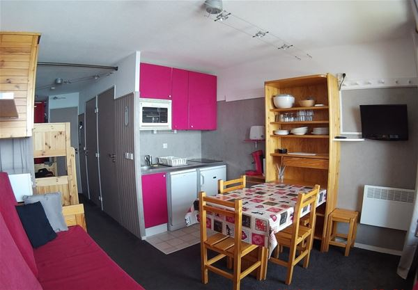 REINE BLANCHE 13 / APARTMENT 2 ROOMS 4 PEOPLE - 2 SILVER SNOWFLAKES - CI