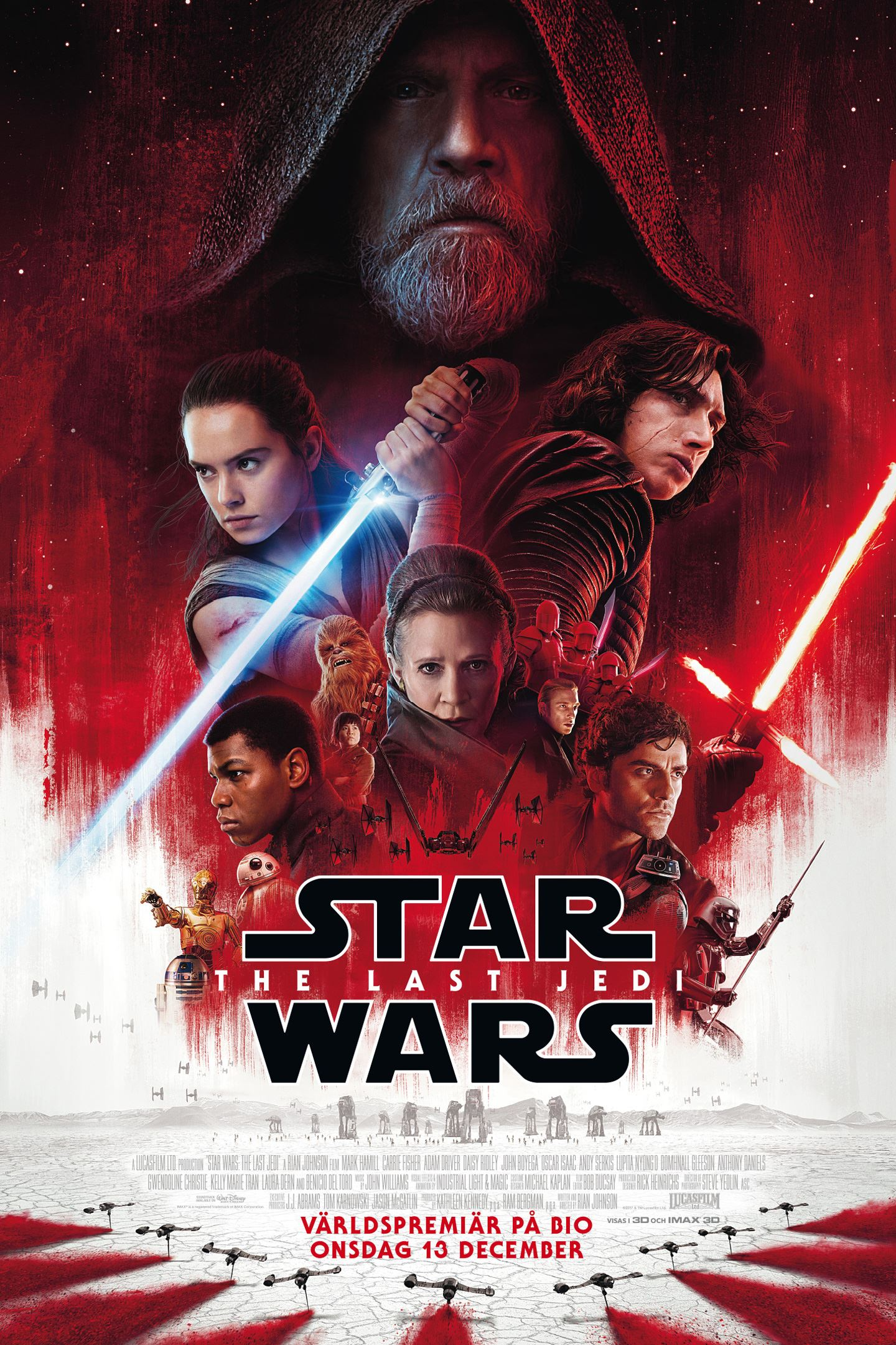 Bio: Star Wars: The Last Jedi