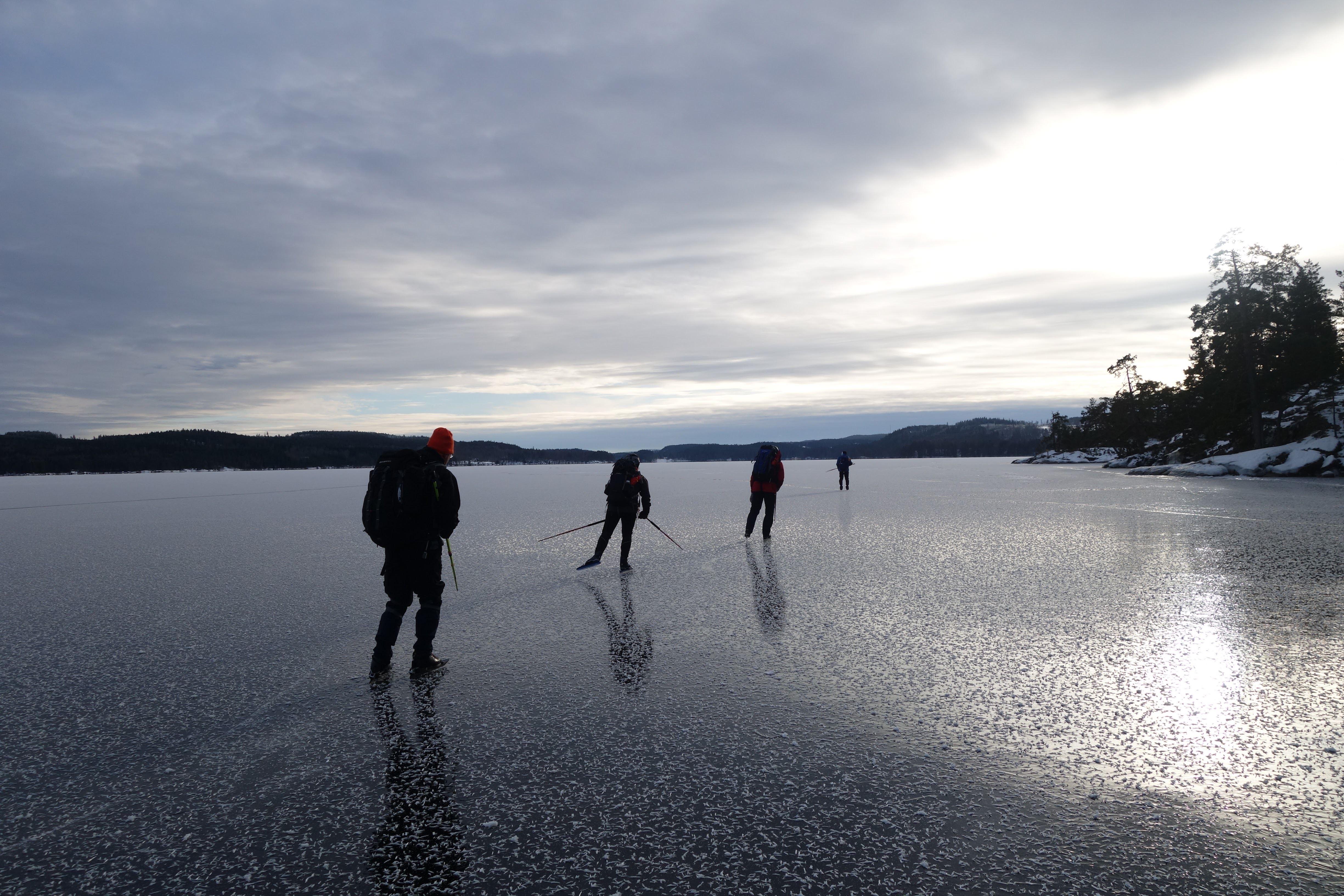 © Friluftsfrämjandet Nässjö, Pröva på långfärdsskridskor och upptaktsträff