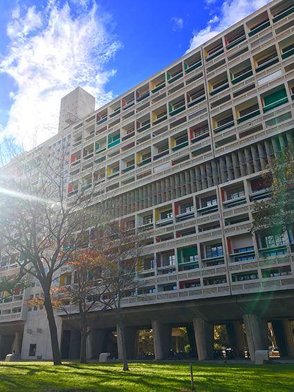La Cité radieuse - Le Corbusier- Visites FR/GB vendredi et samedi 10h/ Tours in english only on Friday & Saturday 10am (vacances scolaires/Holidays)