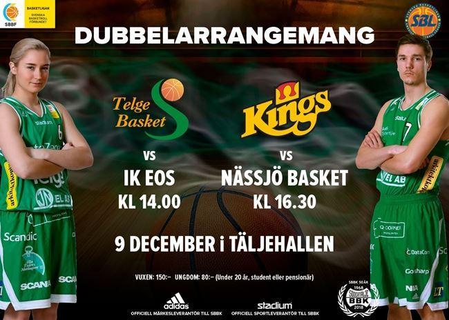 Dubbel basketmatch
