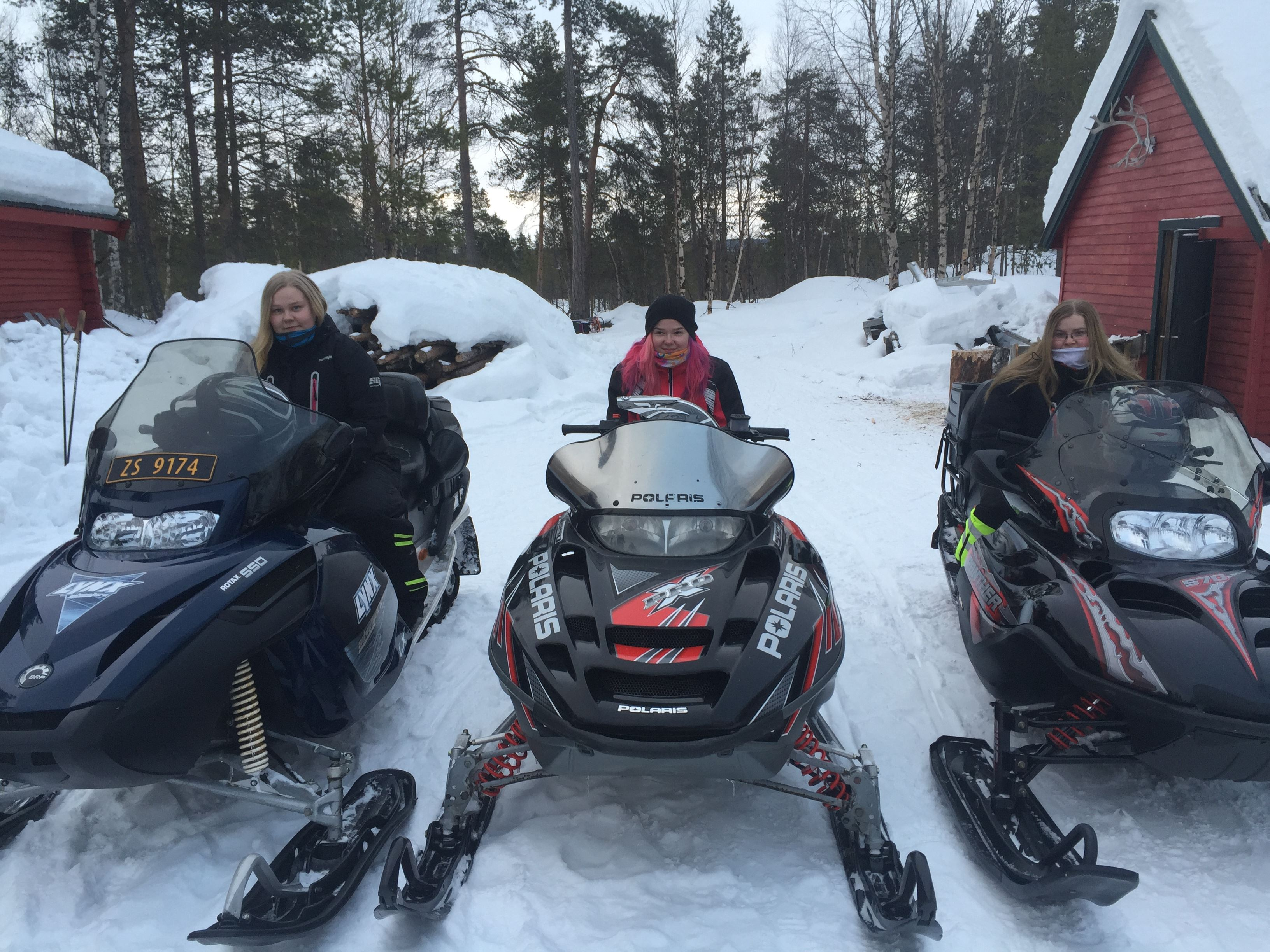 Snowmobile safari from BIRK