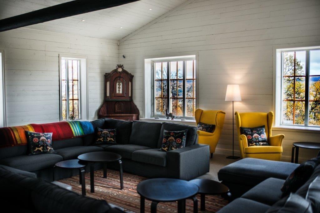 Fjällbäcken Lodge för stora familjen eller större sällskap, 15 bäddar