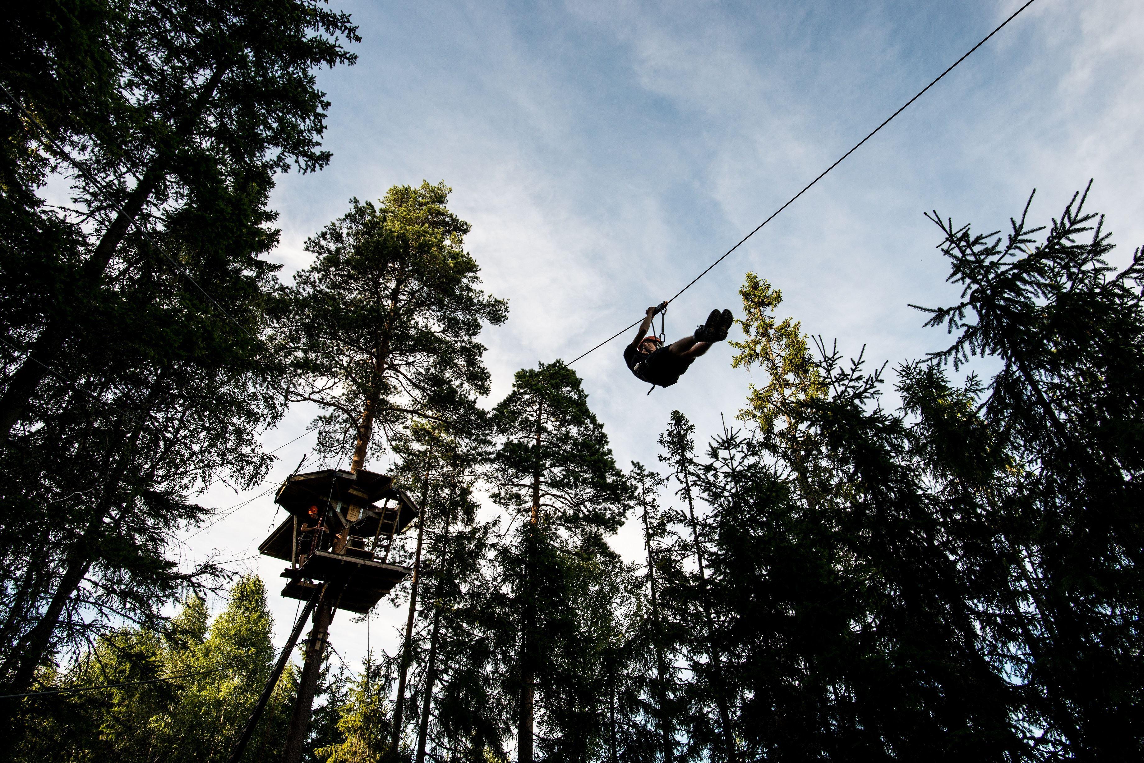 Zipline äventyr