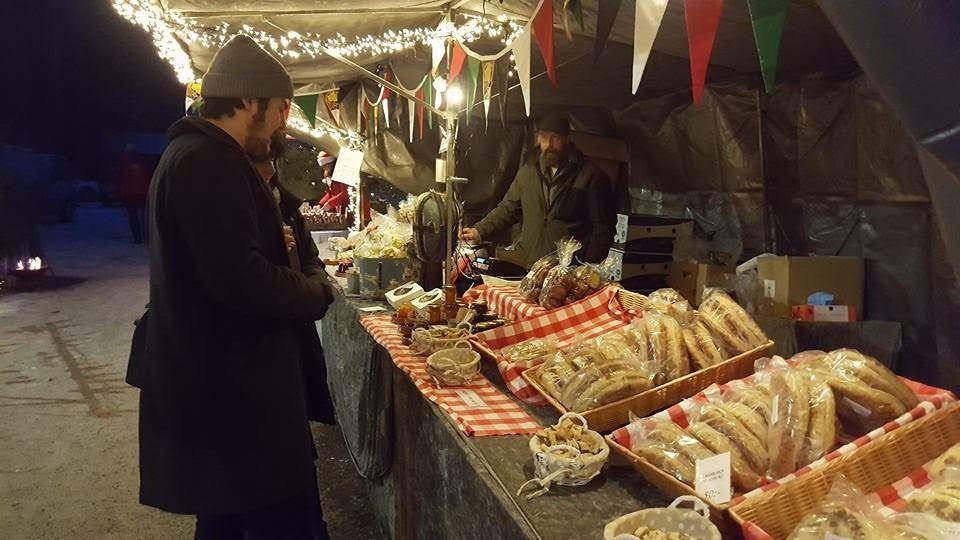 Julmarknad i växthuset