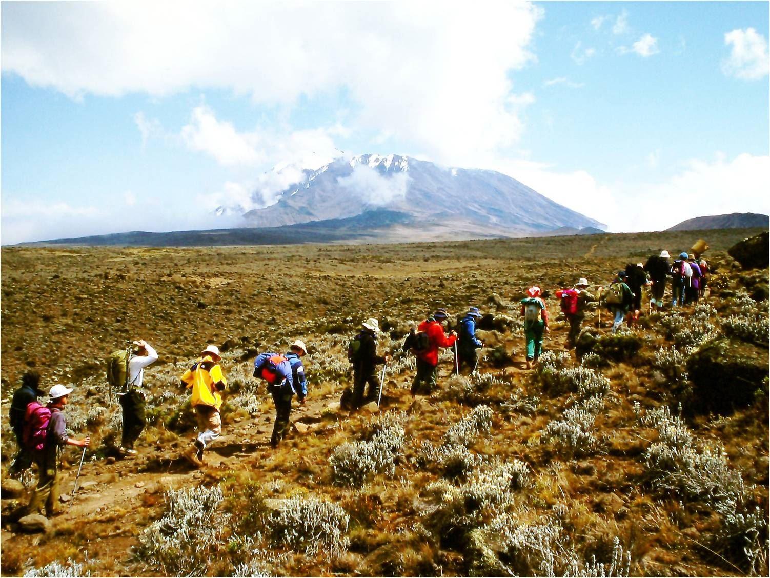 Upplev Kilimanjaro - föredrag med bildspel till musik