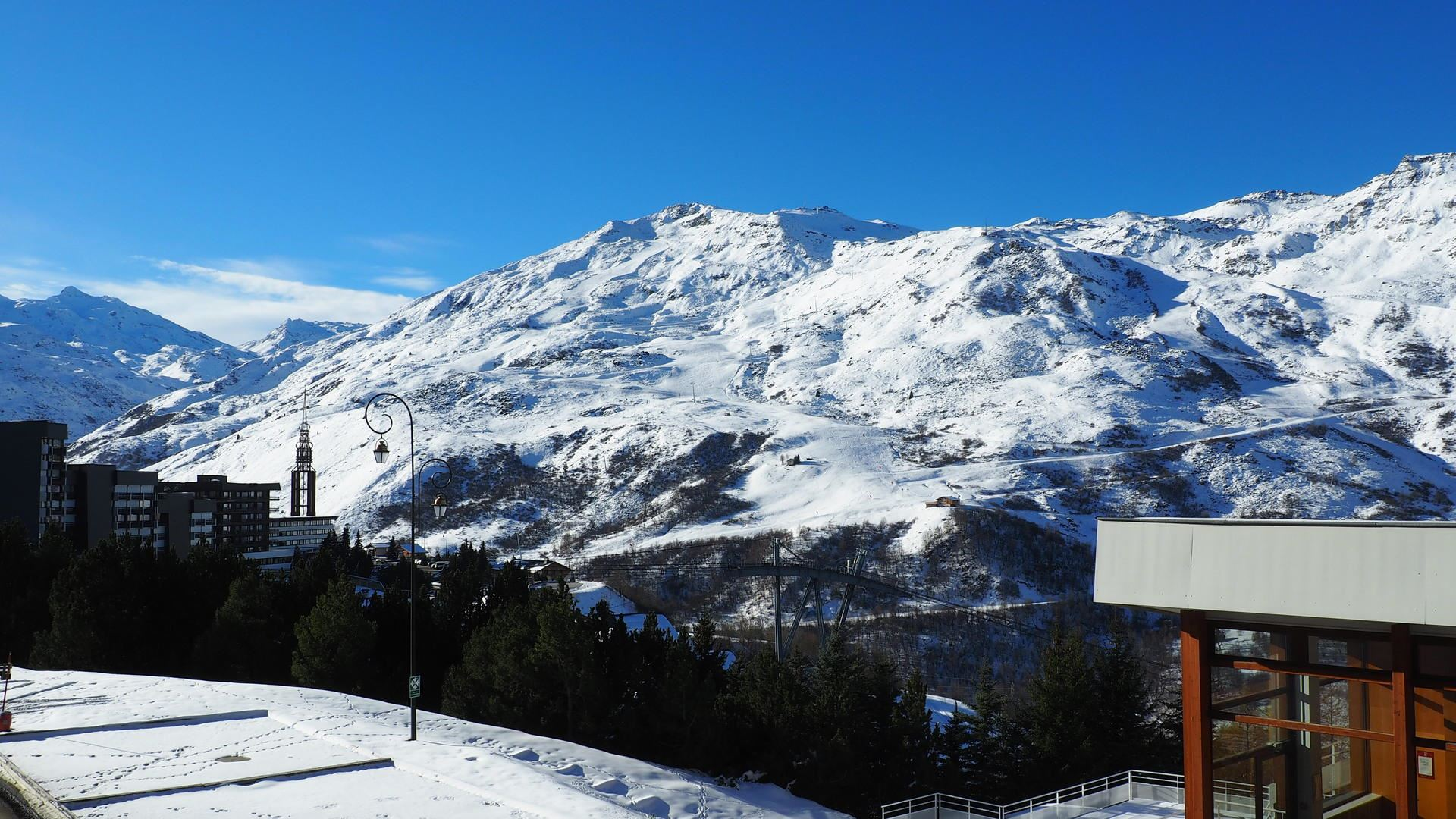 2 Rooms 5 Pers ski-in ski-out / LES LAUZES 14