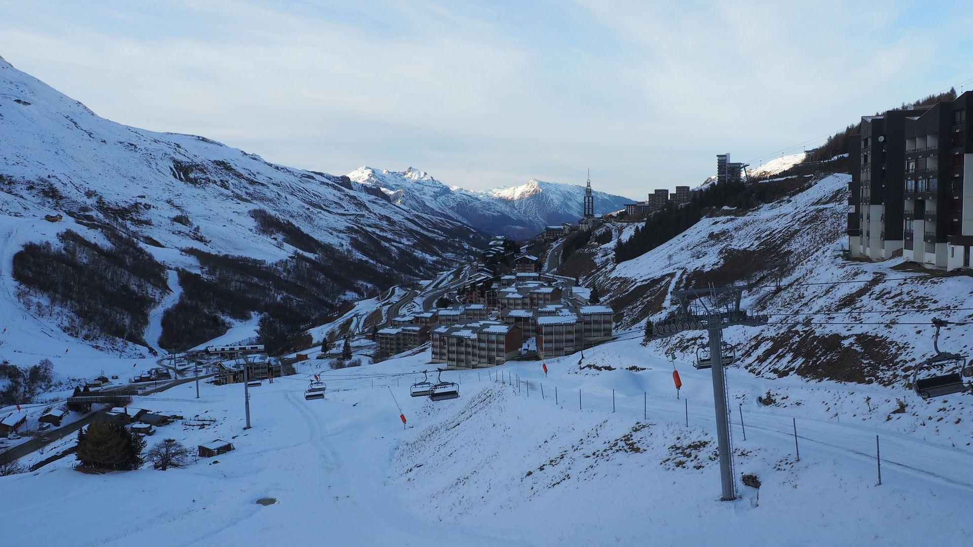 4 Pers Studio Cabin ski-in ski-out / SKI SOLEIL 1605