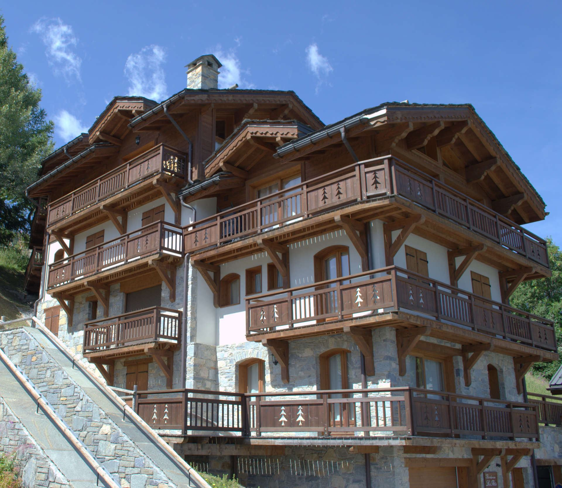4 rooms, 6 people / Chalet les Rois (mountain of dream)