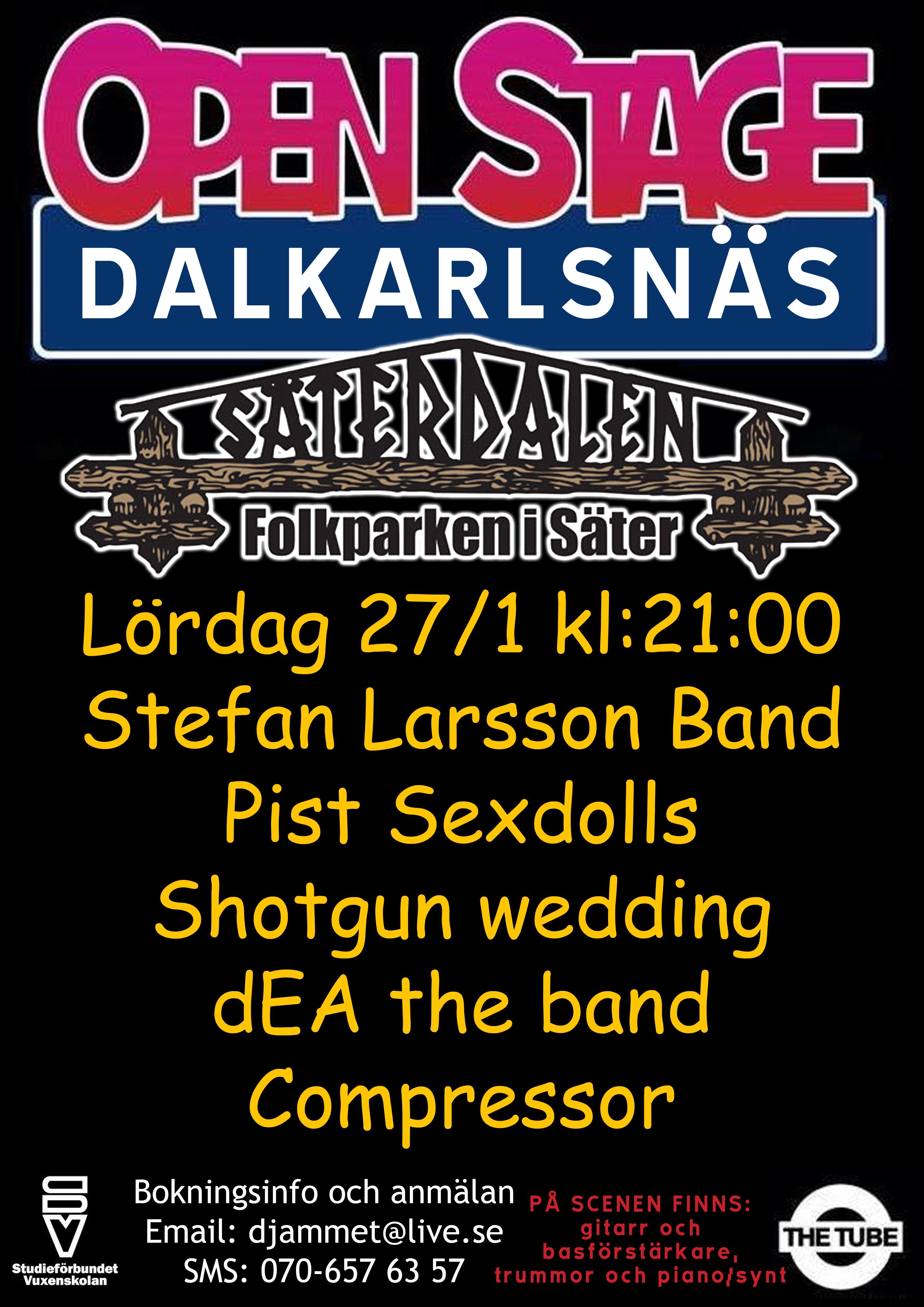 Dalkarlsnäs open stage