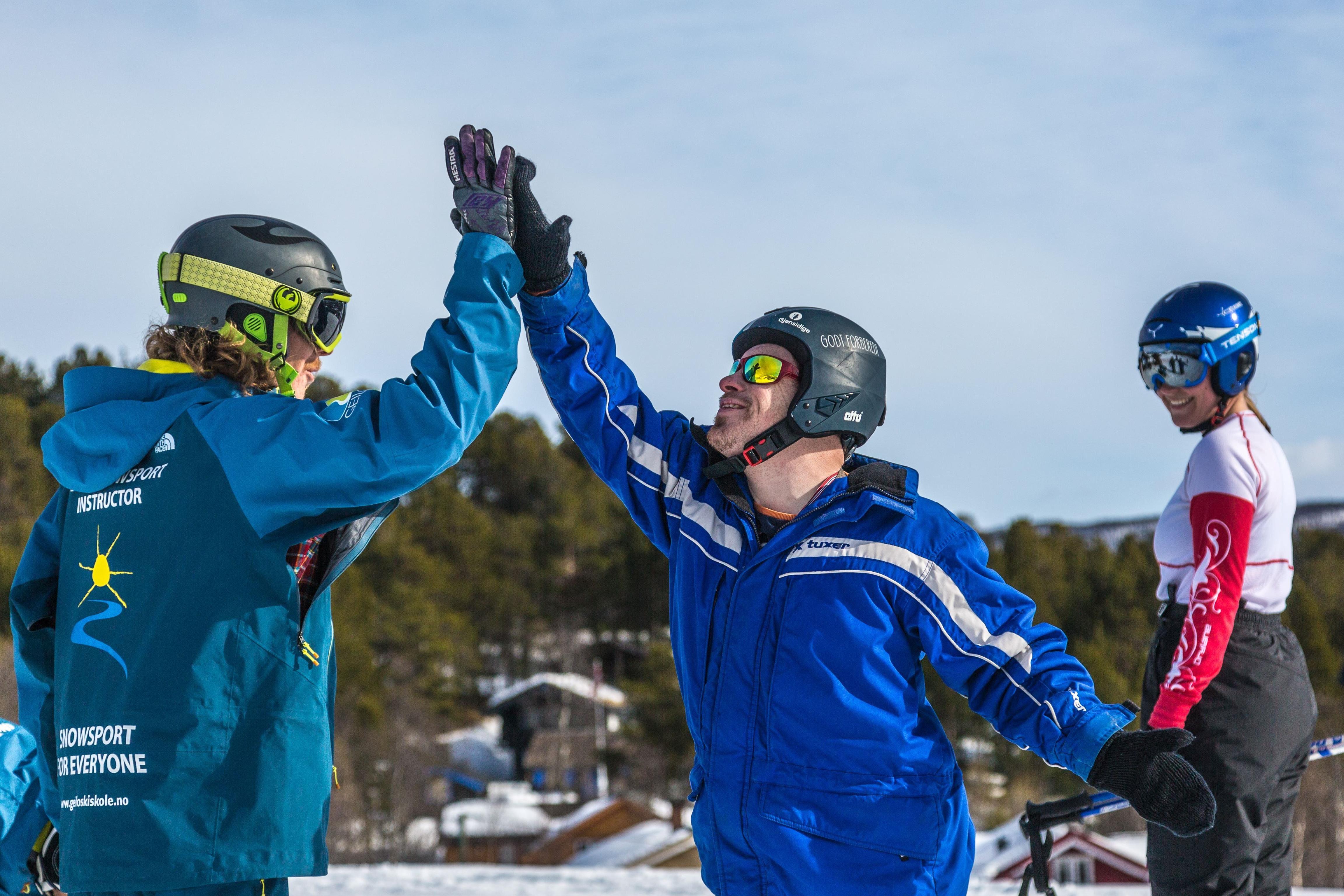 Slaatta Skisenter AS,  © Slaatta Skisenter AS, Mennesker med down syndrom elsker å stå på ski