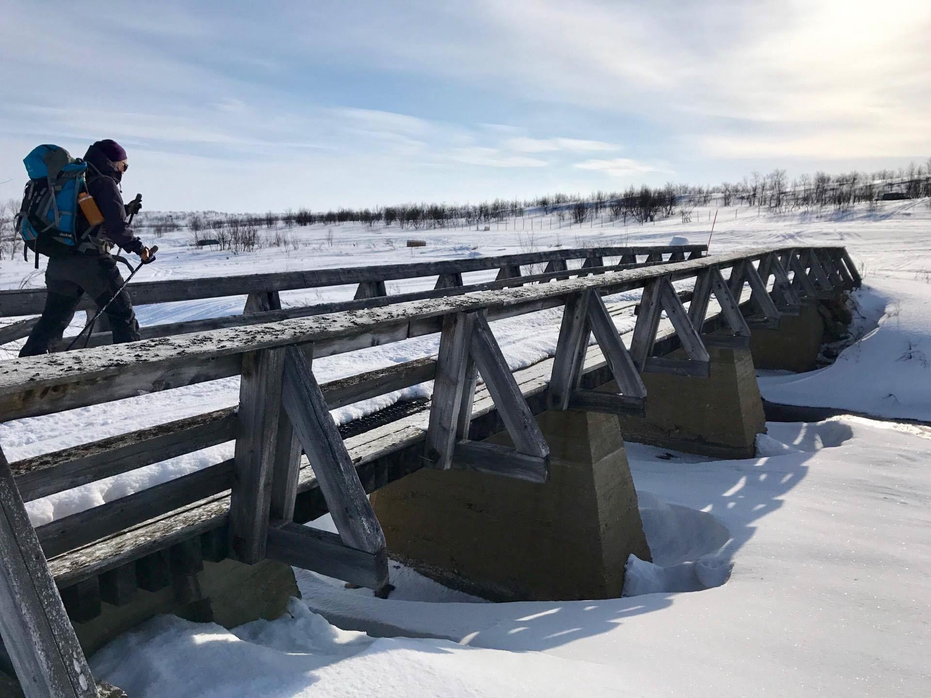 THE FINNMARK PLATEAU SKI EXPEDITION