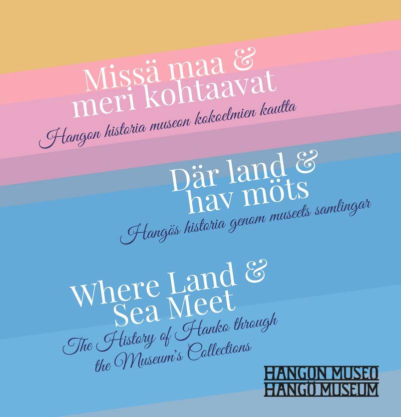 Där land och hav möts - Hangös historia genom museets samlingar